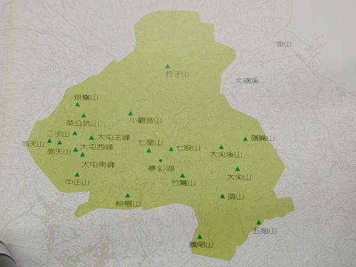 大屯火山群分布圖(來源:陽明山國家公園計畫書).jpg