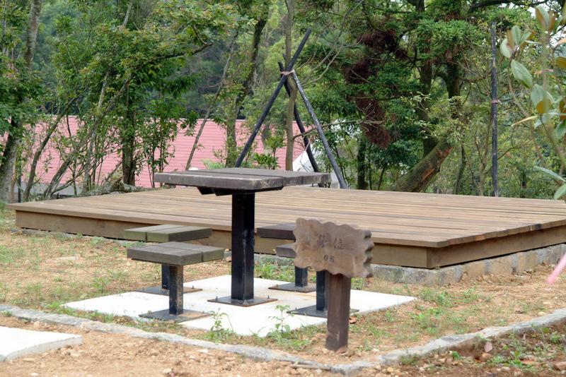 菁山露營場露營營位