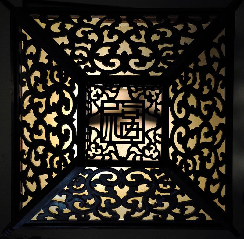 中山樓宮廷燈(張榮欽攝)