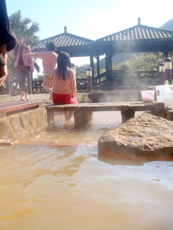 Lengshuikeng hot spring bathing rooms