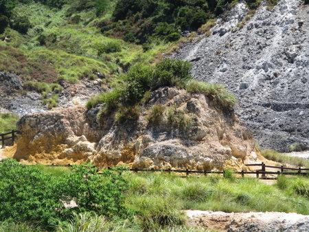 硫磺谷之火山屑碎岩
