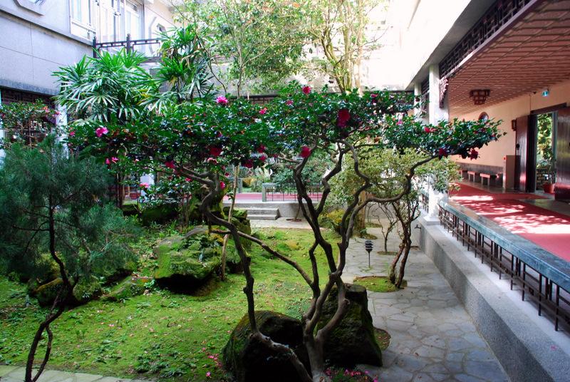 陽明書屋庭園(韓志武攝)