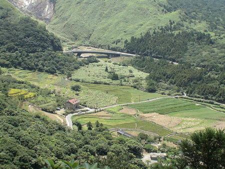 竹子湖之頂湖全景