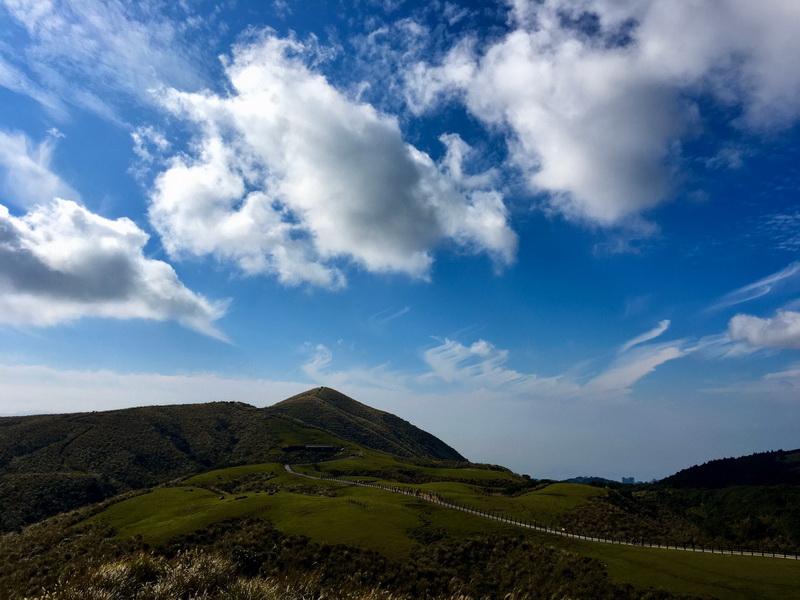 擎天崗草原與竹篙山
